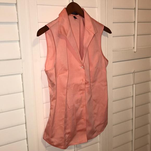 b4c41232996 Jones New York Tops - Jones New York signature shimmer sleeveless blouse